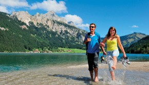 Sportliche Betätigung und Wellness in perfekter Umgebung
