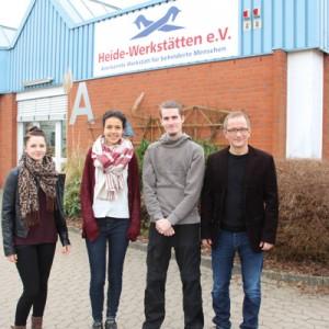 Charlotte Behrens, Aniisa Schöning, Tobias Thies und Fabian Heßland - Foto: (so)