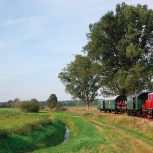 Die Idylle erhalten - die Eisenbahnfreunde kämpfen darum Foto: hr