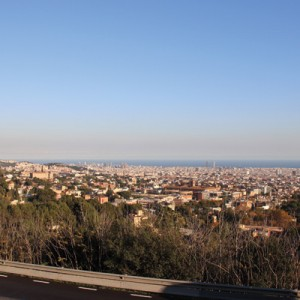 Sicht auf Barcelona aus der Sierra de Collserola. Fotos: so