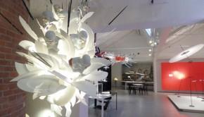 Der Showroom von Lichtdesigner Ingo Maurer. Foto: Hachmeister